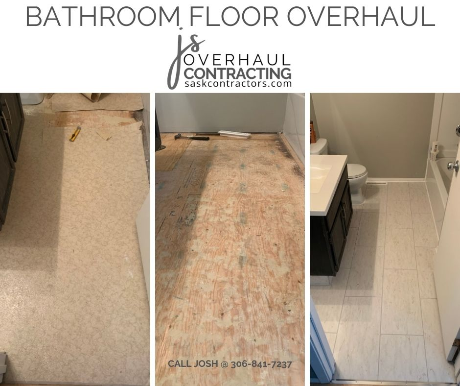 Bathroom Floor Overhaul